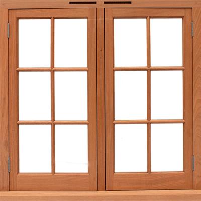 חלונות עץ אלומיניום